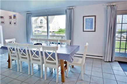 West Yarmouth Cape Cod vacation rental - Large open dining room / kitchen combo with doors to deck