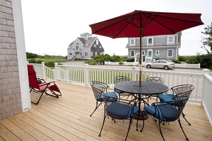 West Yarmouth Cape Cod vacation rental - View from second floor deck. Private beach just steps away.