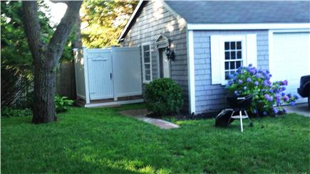 Centerville,  Barnstable Centerville vacation rental - New Outside  shower with dressing room & rain shower shower head