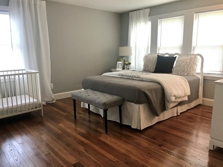 Centerville,  Barnstable Centerville vacation rental - large 2nd bedroom with queen bed and crib on 2nd floor.