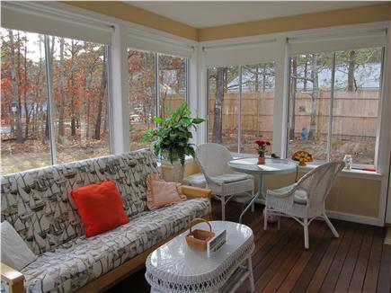 South Dennis Cape Cod vacation rental - Sun Porch