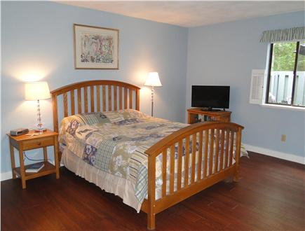 Brewster Cape Cod vacation rental - King master bedroom with own bathroom