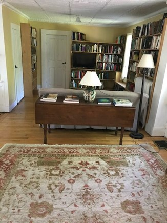 North Truro Cape Cod vacation rental - Living room, entered from kitchen.