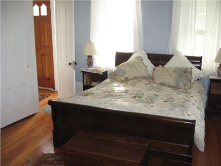 North Truro Cape Cod vacation rental - Downstairs master bedroom ( study, bath not pictured)