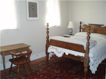 North Truro Cape Cod vacation rental - Upstairs 3/4 bed master bedroom with stove, desk, chair wardrobe
