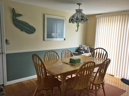 South Yarmouth Cape Cod vacation rental - Dining Area with slider to patio