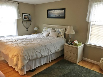 South Yarmouth Cape Cod vacation rental - Master Bedroom with TV