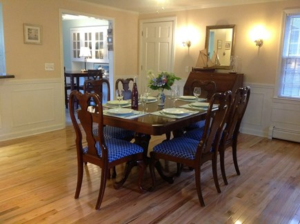 Brewster Cape Cod vacation rental - Dining room with seating for 9