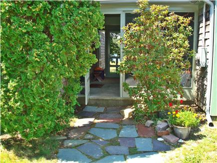 Brewster Cape Cod vacation rental - Front entrance to screen porch