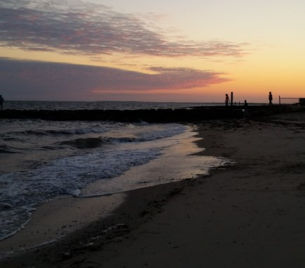 Dennisport Cape Cod vacation rental - Peaceful, easy: quick walk back to beach to enjoy end of the day.