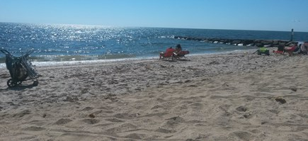 Dennisport Cape Cod vacation rental - 4-minute walk to residents-only beach. No need for car & no fees.