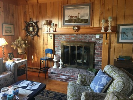 Orleans Cape Cod vacation rental - Living Room with sleeper sofa