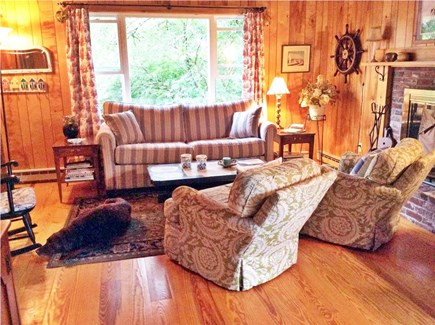 Orleans Cape Cod vacation rental - Living room/dining room with sleeper sofa