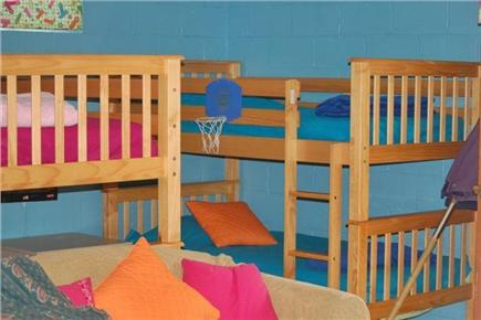 Orleans Cape Cod vacation rental - Basement Bunk Room - sleeps 7