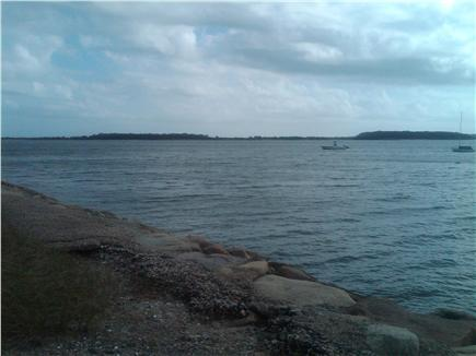Yarmouth Cape Cod vacation rental - Lewis Bay looking at Great Island from end of street