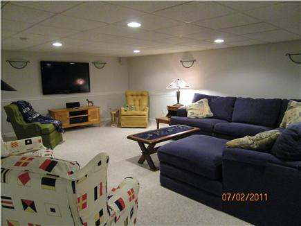 Centerville Centerville vacation rental - Expansive finished basement, movie room, bedroom