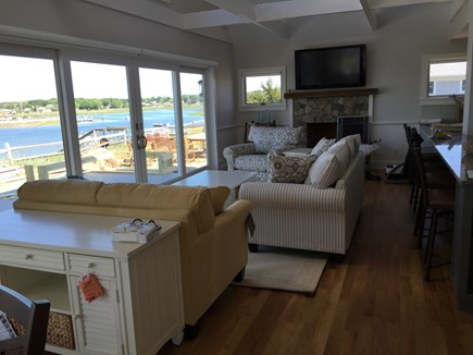 Wellfleet Cape Cod vacation rental - Family room...
