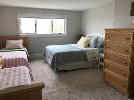 Wellfleet Cape Cod vacation rental - Third bedroom, one queen, two twins, second floor