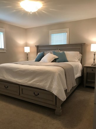 Wellfleet Cape Cod vacation rental - Second master, first floor, king.  Ensuite bathroom