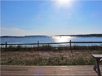 Wellfleet Cape Cod vacation rental - Wellfleet Harbor, view from the deck of the house