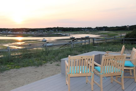 Wellfleet Cape Cod vacation rental - Low tide sunset...