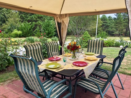 Eastham Cape Cod vacation rental - Summer BBQ and dining!