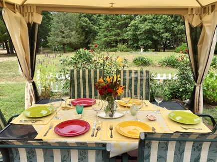 Eastham Cape Cod vacation rental - Outside dining at its best