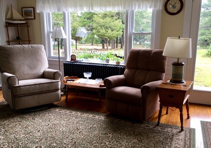 Eastham Cape Cod vacation rental - Sunny living room with views