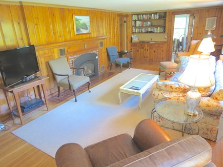 Brewster Cape Cod vacation rental - Comfy, large living room with flat screen TV