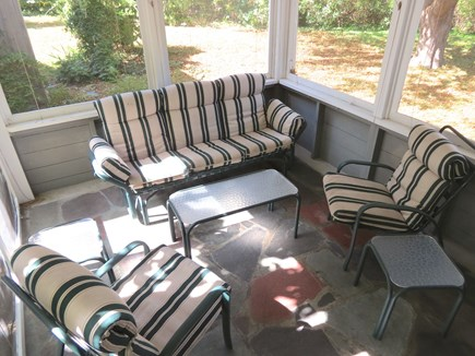 Brewster Cape Cod vacation rental - Summertime . . . and the screened porch livin' is easy!
