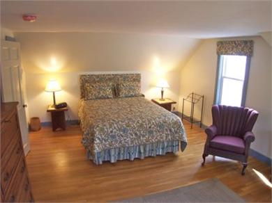 Brewster Cape Cod vacation rental - Upper level BRs are this queen . . .