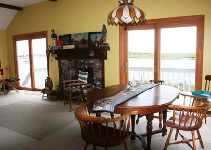 West Dennis Cape Cod vacation rental - Dining Room with water views!