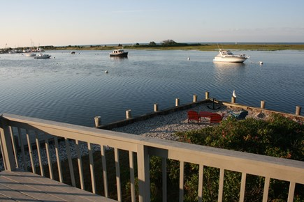 West Dennis Cape Cod vacation rental - View from back deck