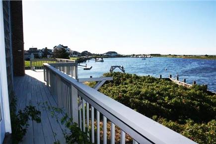 West Dennis Cape Cod vacation rental - Deck with water views