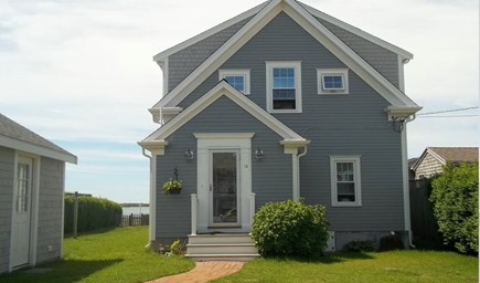 West Yarmouth Cape Cod vacation rental - Front of house,quiet street - ''Idle Time '' Cottage by the Sea!
