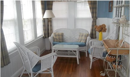 West Yarmouth Cape Cod vacation rental - Sun Room with magnificent ocean views