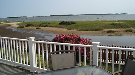 West Yarmouth Cape Cod vacation rental - Expansive ocean views from the lower deck