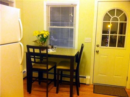 East Falmouth Cape Cod vacation rental - Granite Kitchen table