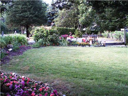 Eastham Cape Cod vacation rental - Front Garden
