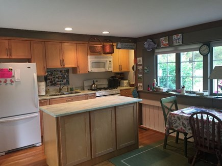 Eastham Cape Cod vacation rental - Dining area & fully equipped kitchen with maple cabinets