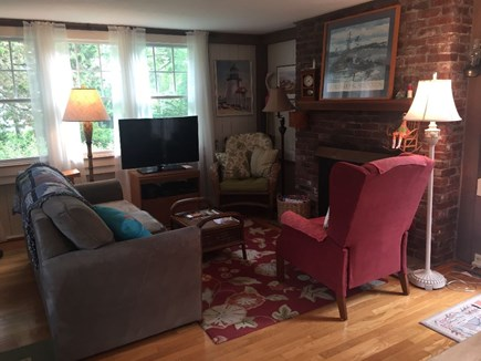 Eastham Cape Cod vacation rental - Living Room: Expanded Comcast Xfinity TV and high-speed internet