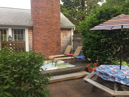 Eastham Cape Cod vacation rental - Private patio, lots of comfortable seating areas