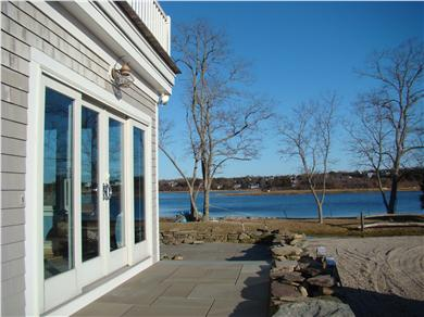 Orleans/Eastham/Wellfleet Cape Cod vacation rental - Bluestone patio with water views