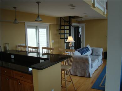 Orleans/Eastham/Wellfleet Cape Cod vacation rental - Granite countertops with cherry cabinets, open floor plan