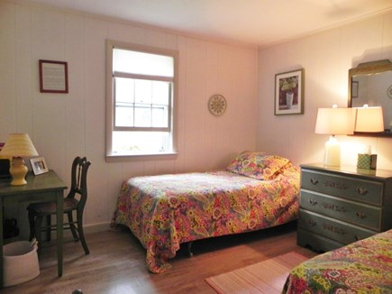 Popponesset Cape Cod vacation rental - Twin bedroom in front of house.