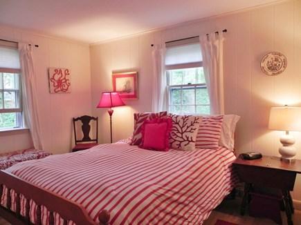 Popponesset Cape Cod vacation rental - Master bedroom at end of hallway.