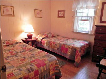 Mashpee, Popponesset Cape Cod vacation rental - 1st twin bedroom down hallway