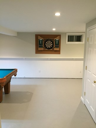 Chatham Cape Cod vacation rental - Finished Basement includes Washer/Dryer & Half Bath