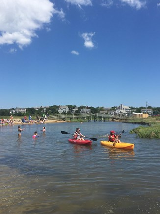 Chatham Cape Cod vacation rental - Kayaking on the lazy river at Ridgevale