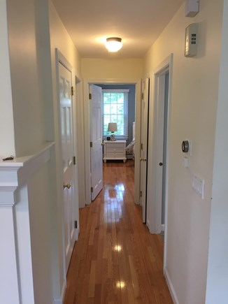Chatham Cape Cod vacation rental - First Floor hall leading to bath & bedrooms